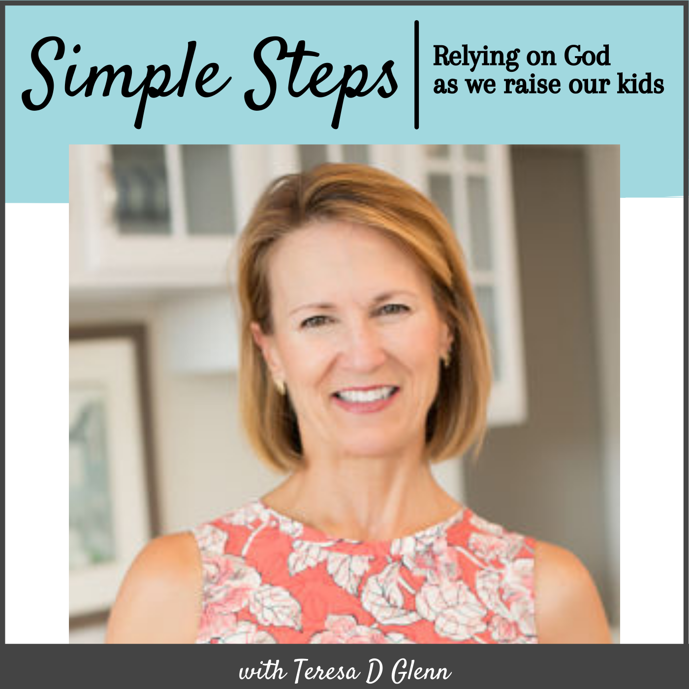 Simple Steps - Relying on God as We Raise Our Kids show art