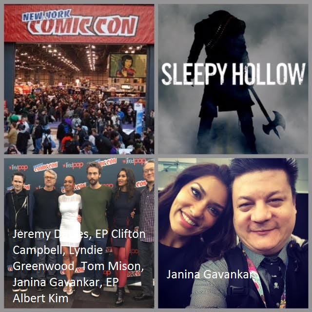 Episode 729 - NYCC: Sleepy Hollow w/ Tom Mison/Lyndie Greenwood/Janina Gavankar/Jeremy Davies/EP Clifton Campbell/EP Albert Kim/EP Raven Metzner!