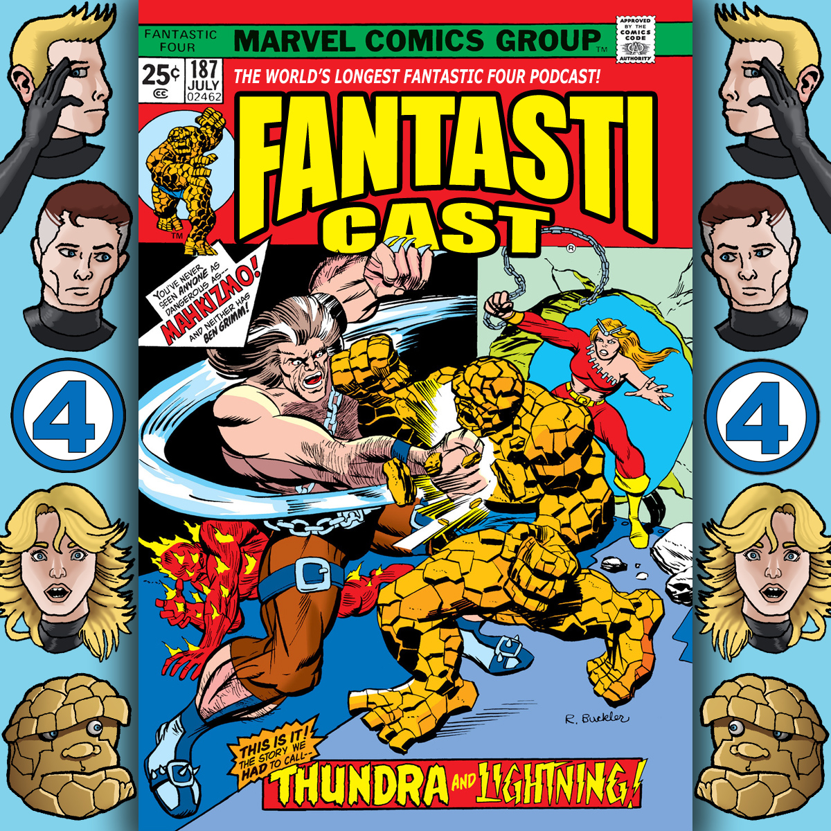 Episode 187: Fantastic Four #151 - Thundra And Lightning Part One