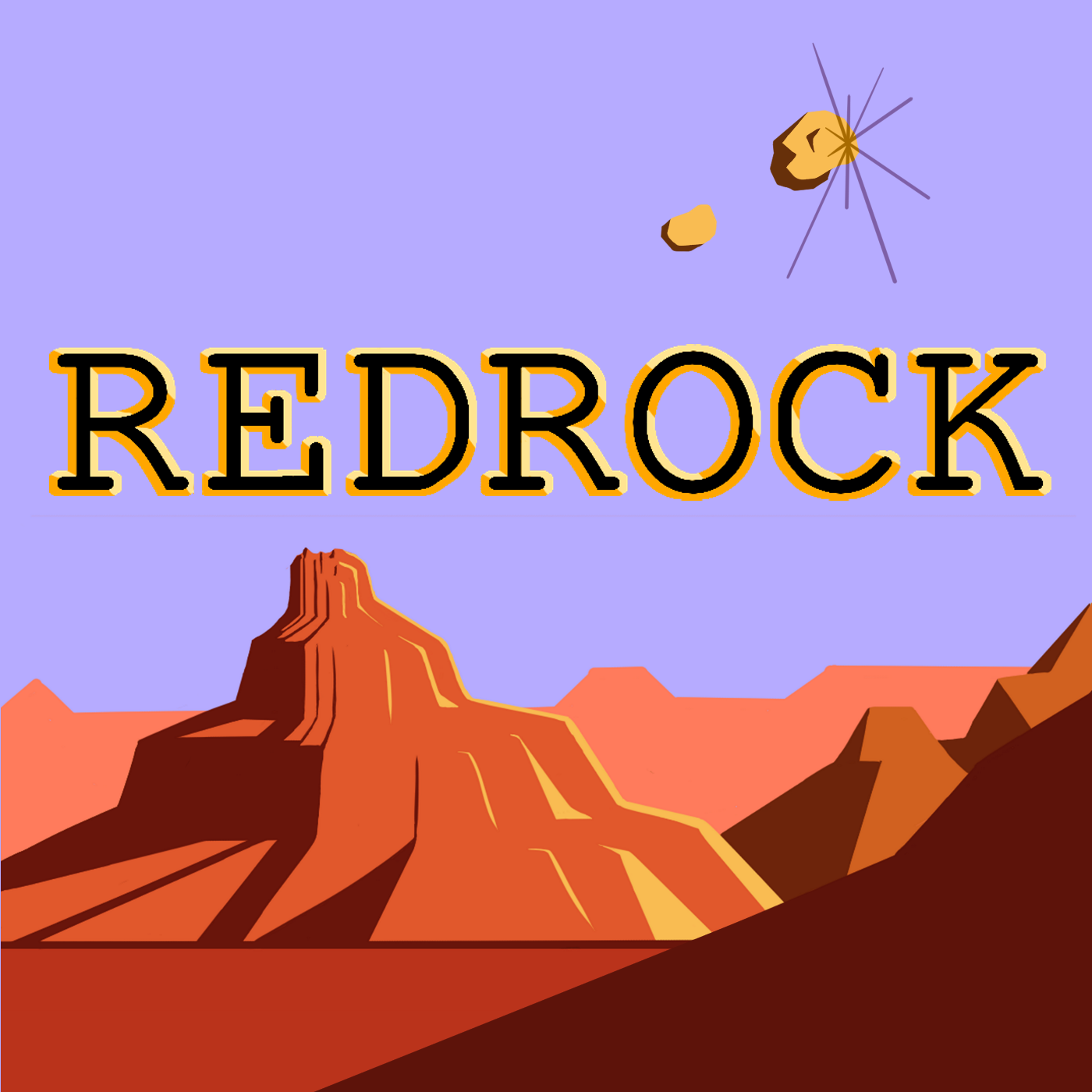 The REDROCK Podcast show art