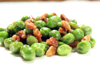 Maple Peas with Pecans