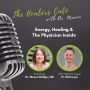 Artwork for Energy and Healing: The Healers Café with Dr. Manon Bolliger, ND & guest Dr. Matthew Lyon