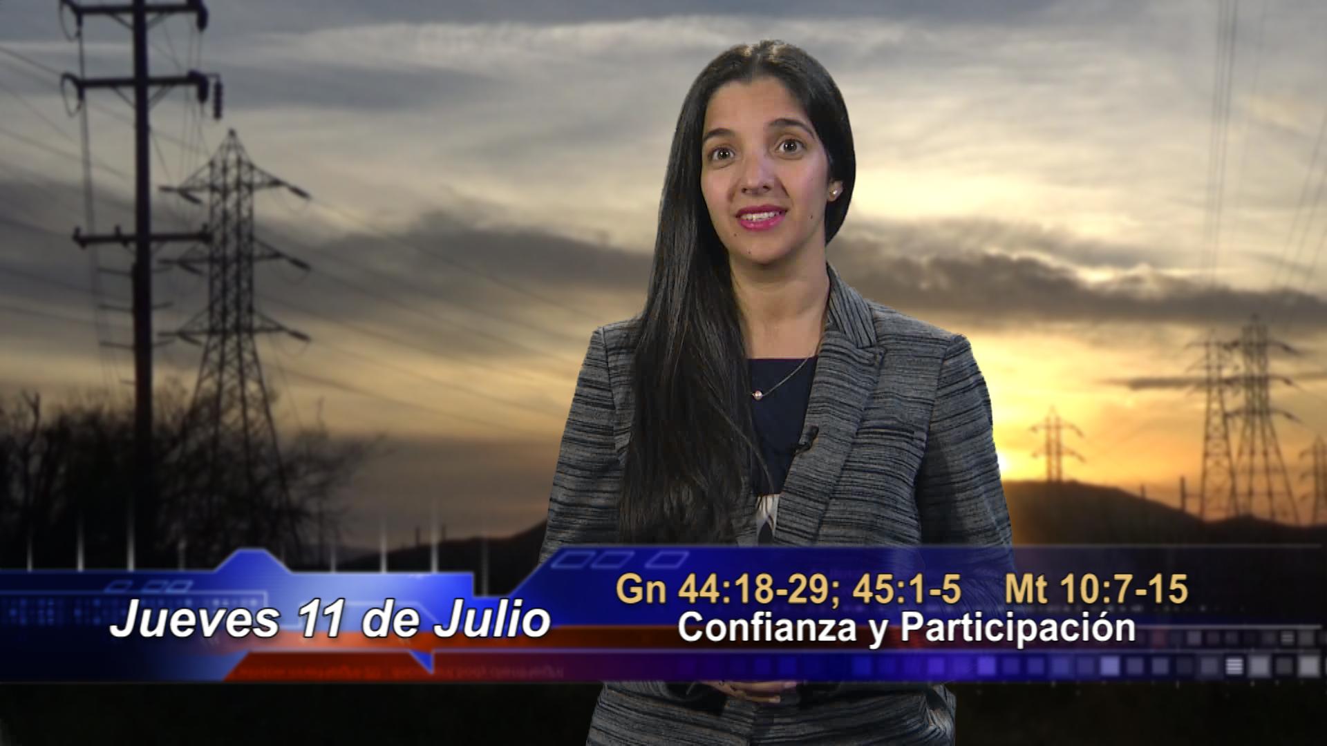 Artwork for Dios te Habla con María Nieves Petrusek;  Tema: Confianza y Participación