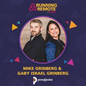 Mike Grinberg and Gaby Israel Grinberg, Co-founders, Proofpoint Marketing