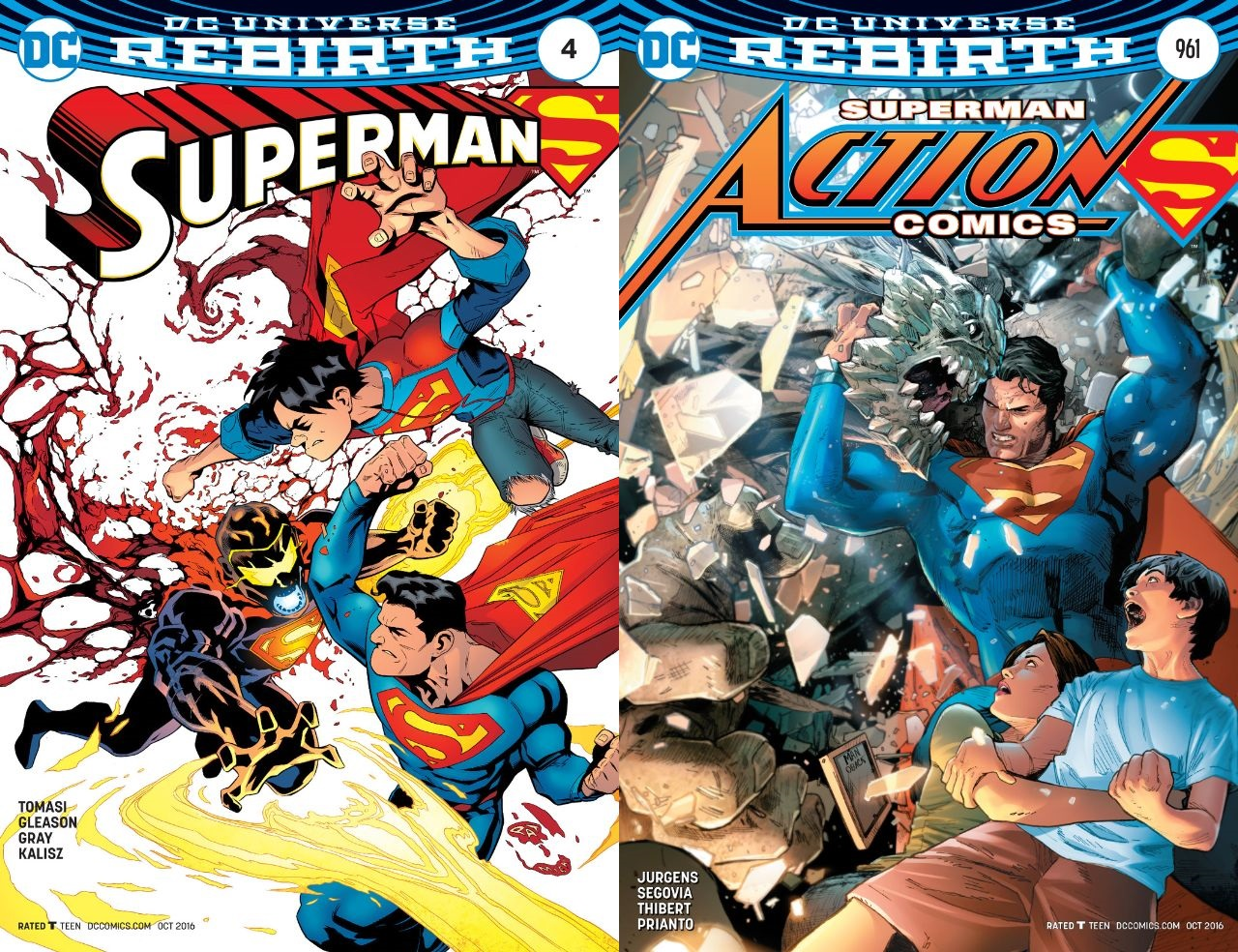 Rebirth: Superman 4 and Action Comics 961