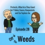 Artwork for Protests, What Are They Good For? Kaley Cuoco, Kaepernick, and Go Topless Go | Off in the Weeds 028
