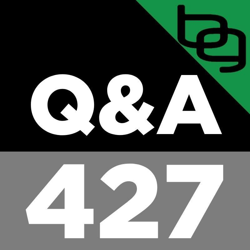 Q&A 427: Blue Steak, Dirty Carpet, Growing Your Brain With Food Deprivation, Using HRV To Choose The Best Exercises, Natural Ways To Increase DHEA & Much More!