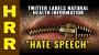 "Artwork for Twitter labels natural health information ""HATE SPEECH"""