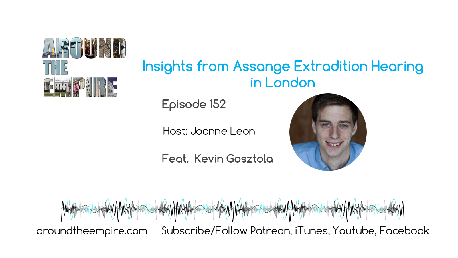 Ep 152 Insights on Assange Extradition Hearing from London feat Kevin Gosztola