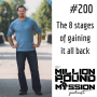 Artwork for 200: The 8 stages of gaining it all back