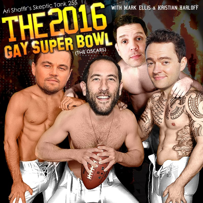 #255: The 2016 Gay Super Bowl; The Oscars (@SchmoesKnow)