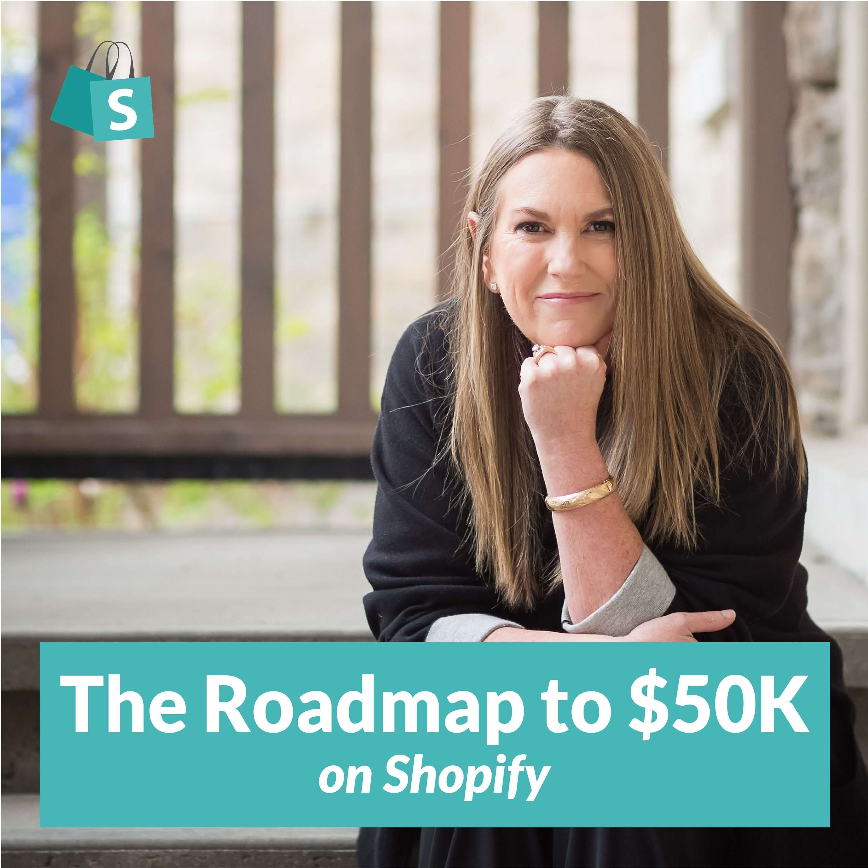 The Roadmap to $50k on Shopify show art