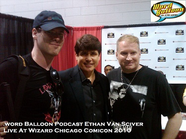 Chicago Comic Con Ethan Van Sciver Words And Music