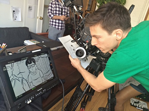 Chris Teague - New York City based Cinematographer - Children of Invention, Obvious Child, Bob and the Trees, and People Places Things