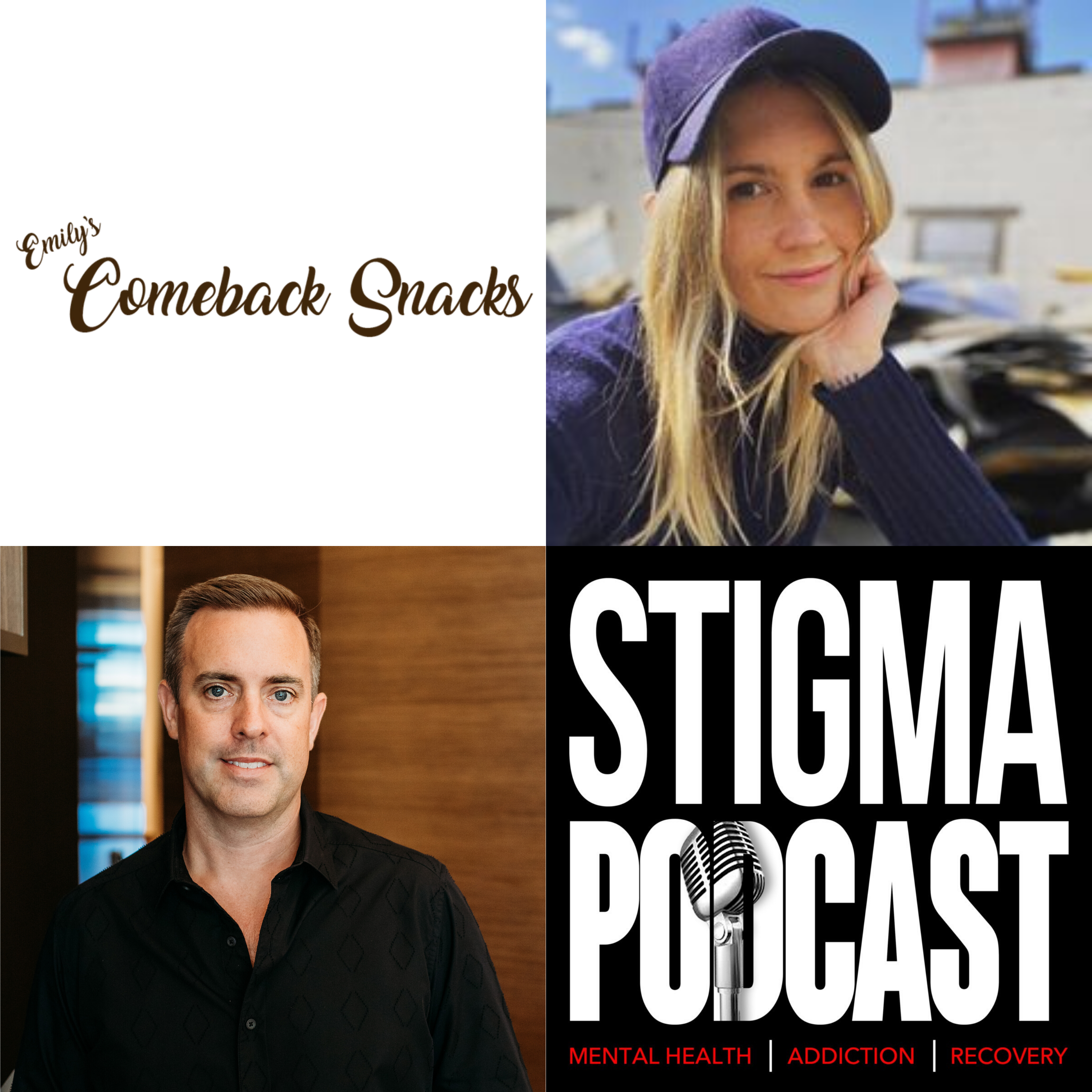 Stigma Podcast - Mental Health - #45 - Starting a Business From Prison with Emily O'Brien Founder of Comeback Snacks