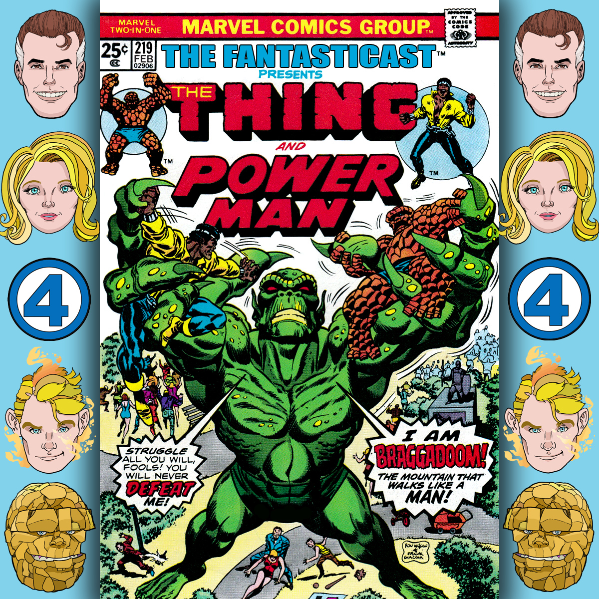 Episode 219: Marvel Two-in-One #13 - I Created Braggadoom, The Mountain That Walked Like A Man