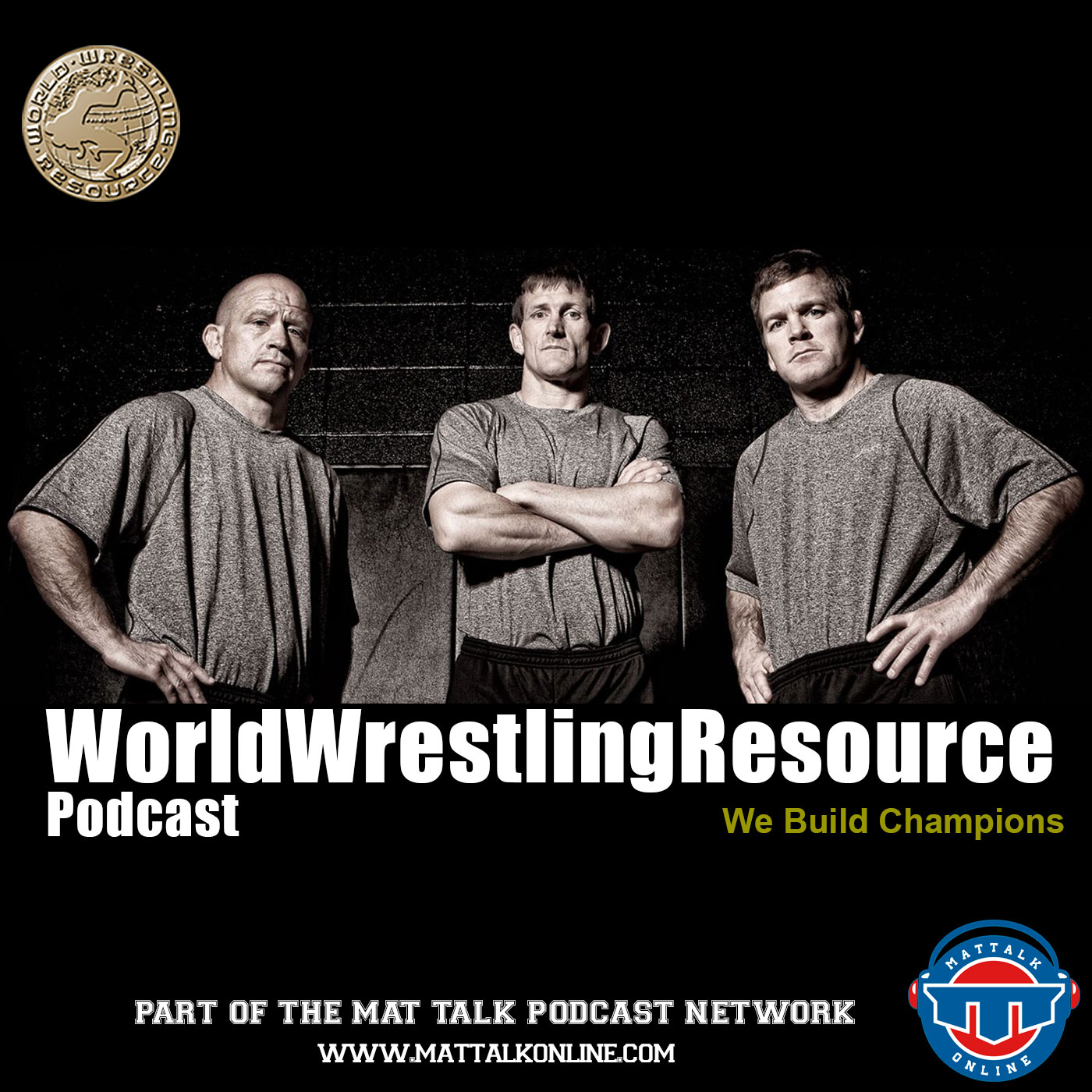 Artwork for WWR04: Combatting concussions and wrestling training with Rich Andrews, Larry Marchionda and Ivan Ivanov