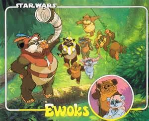 Comics on Infinite Earths-Ewoks/Star Comics