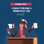 Artwork for Episode 011: 4 Hacks To Become a Productivity Jedi