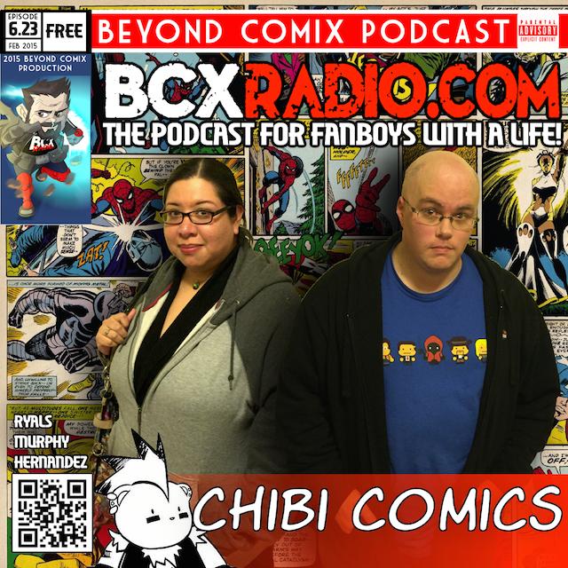 BCXradio 6.23 - Chibi Comics