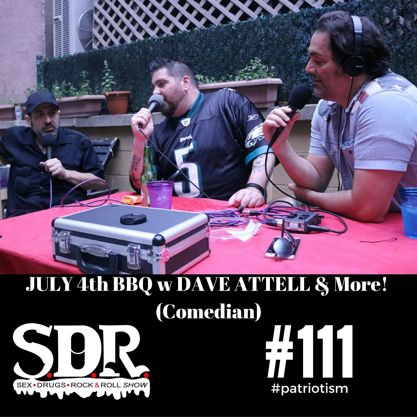 SDR #111 w Dave Attell & More