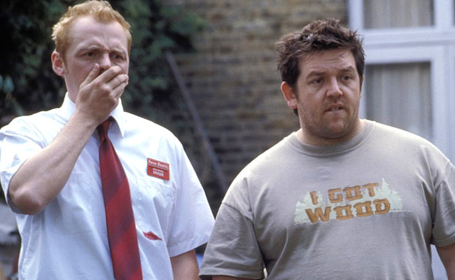 Shaun of the Dead Simon Pegg Nick Frost