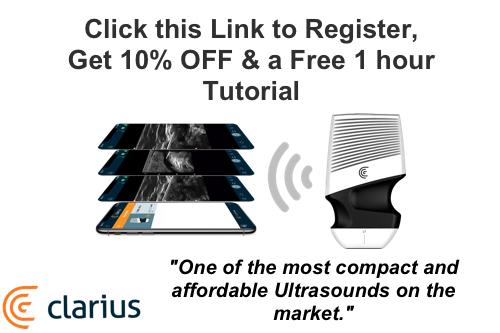 Clarius Hand Held Ultrasound