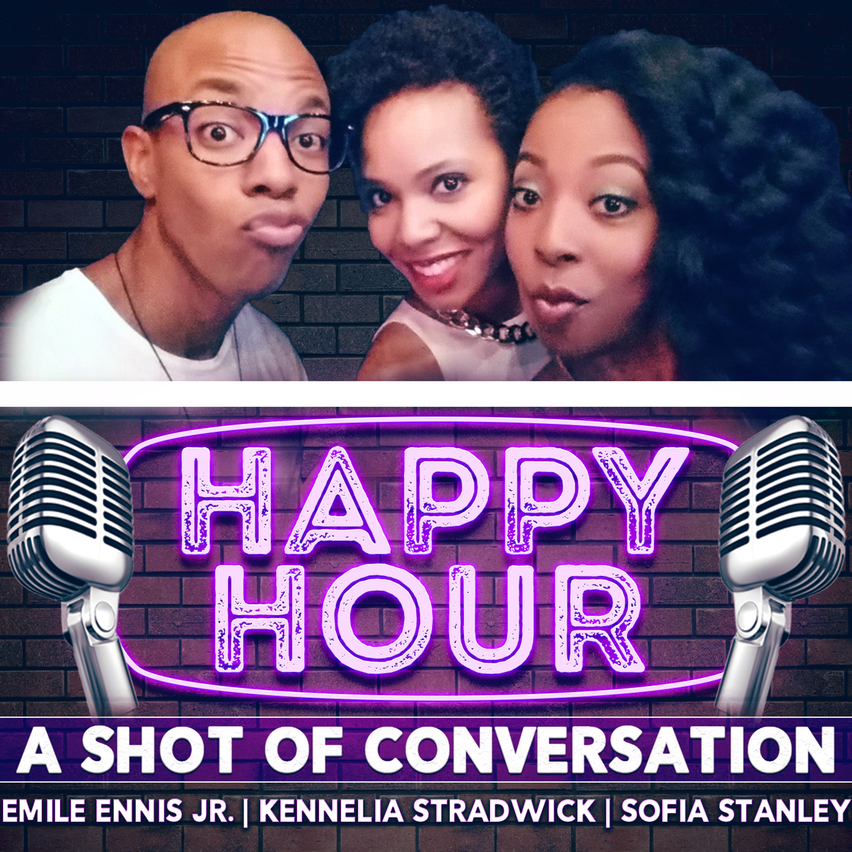 Happy Hour: A Shot of Conversation show art