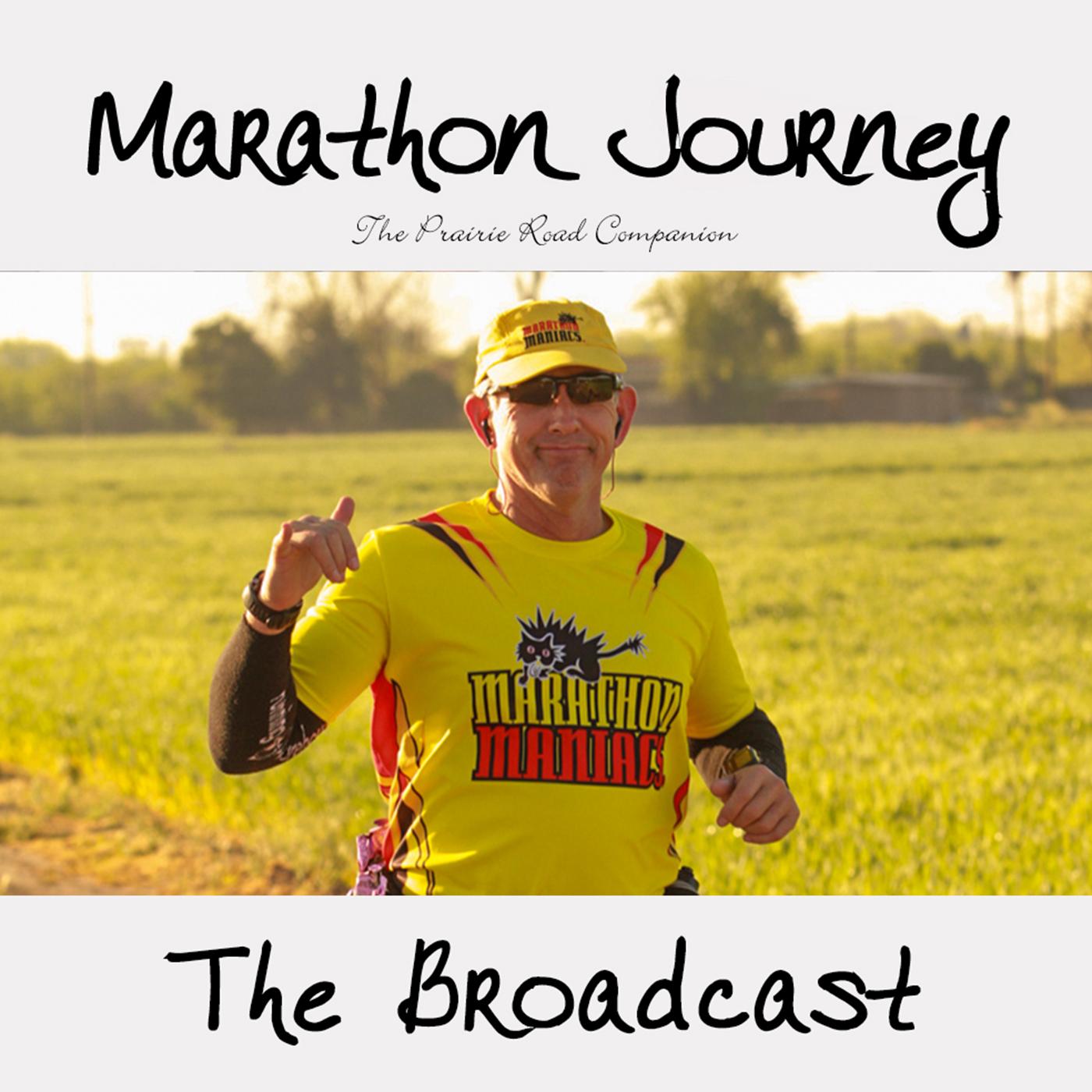 Marathon Journey - The Broadcast show art