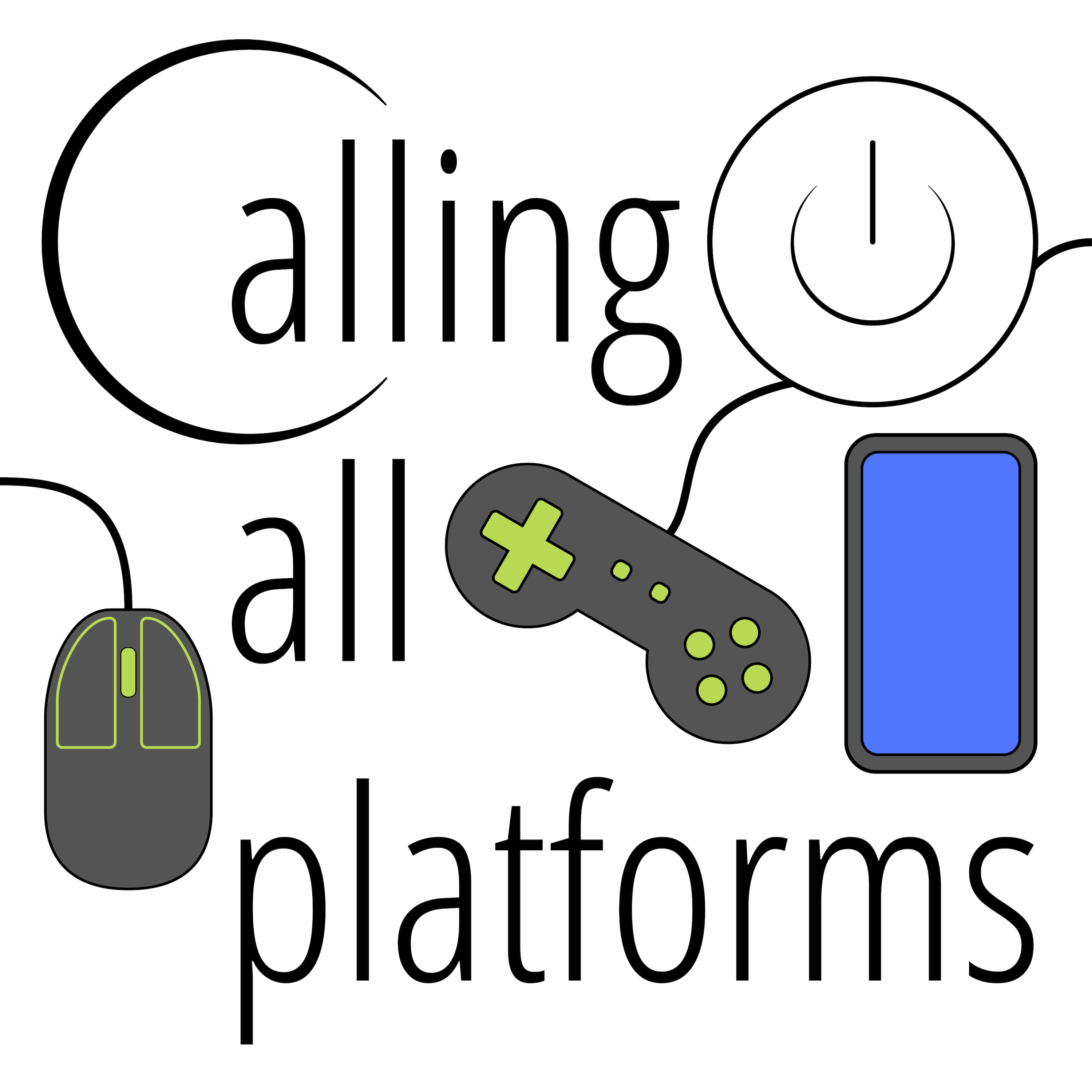 Calling All Platforms Tech and Gaming News show art