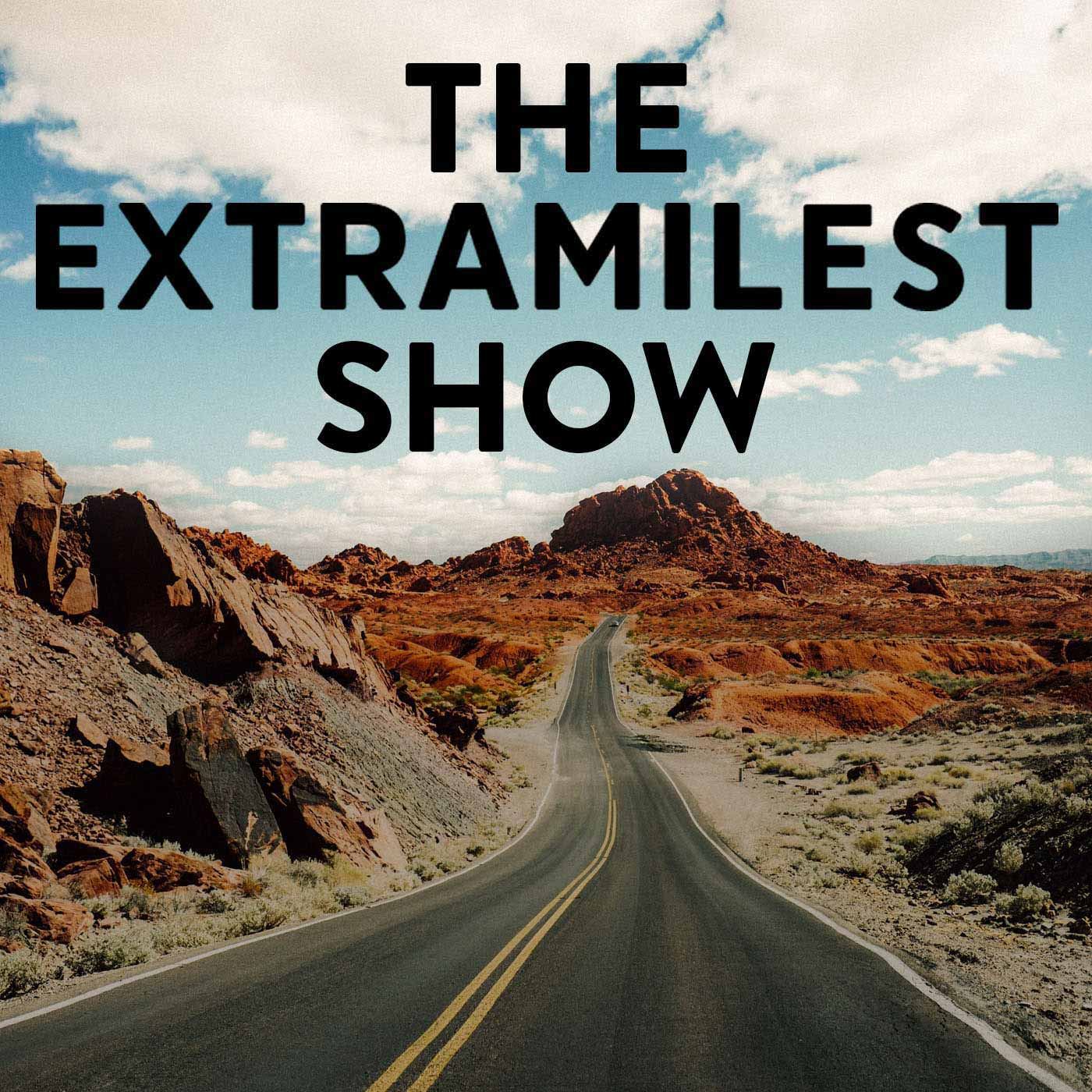 The Extramilest Podcast show art