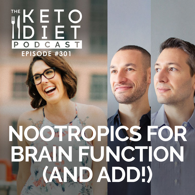 #301 Nootropics for Brain Function (and ADD!) with Adam Greenfield & Dan Feed