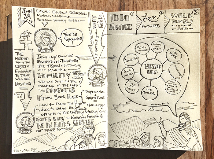 Sabbadoodle - Johnny Gwin - Sermon on the Mount - Beatitudes - Jesus - Pulpit To Pew - Podcast