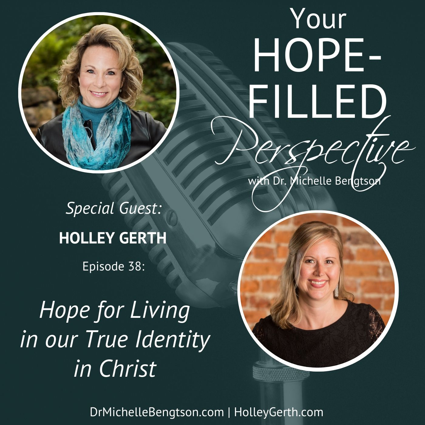 038 Hope for Living in our True Identity in Christ show art