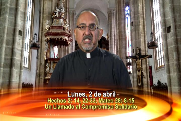 Artwork for Dios te Habla con Fr. Roberto Flores, SVD;  Tema el hoy:  Pascua de Resurrección: Un llamado al Compromiso Solidario
