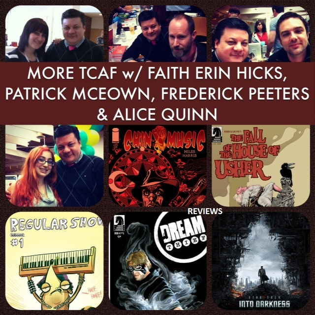 Episode 474 - More TCAF w/ Faith Erin Hicks, Patrick McEown, Frederick Peeters & Alice Quinn!