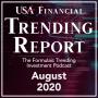 Artwork for August 2020 - USA Financial Trending Report