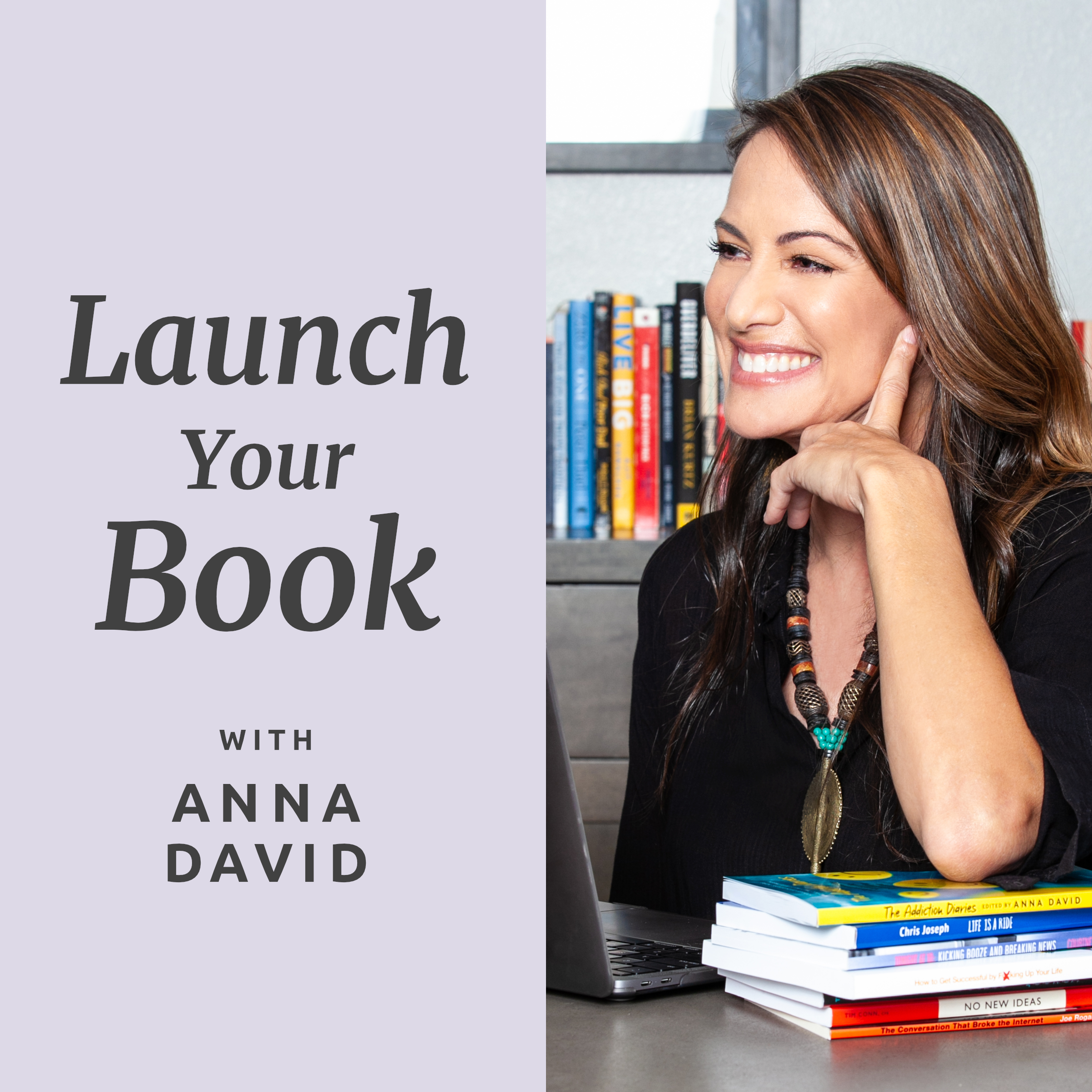 Launch Your Book with Anna David show art