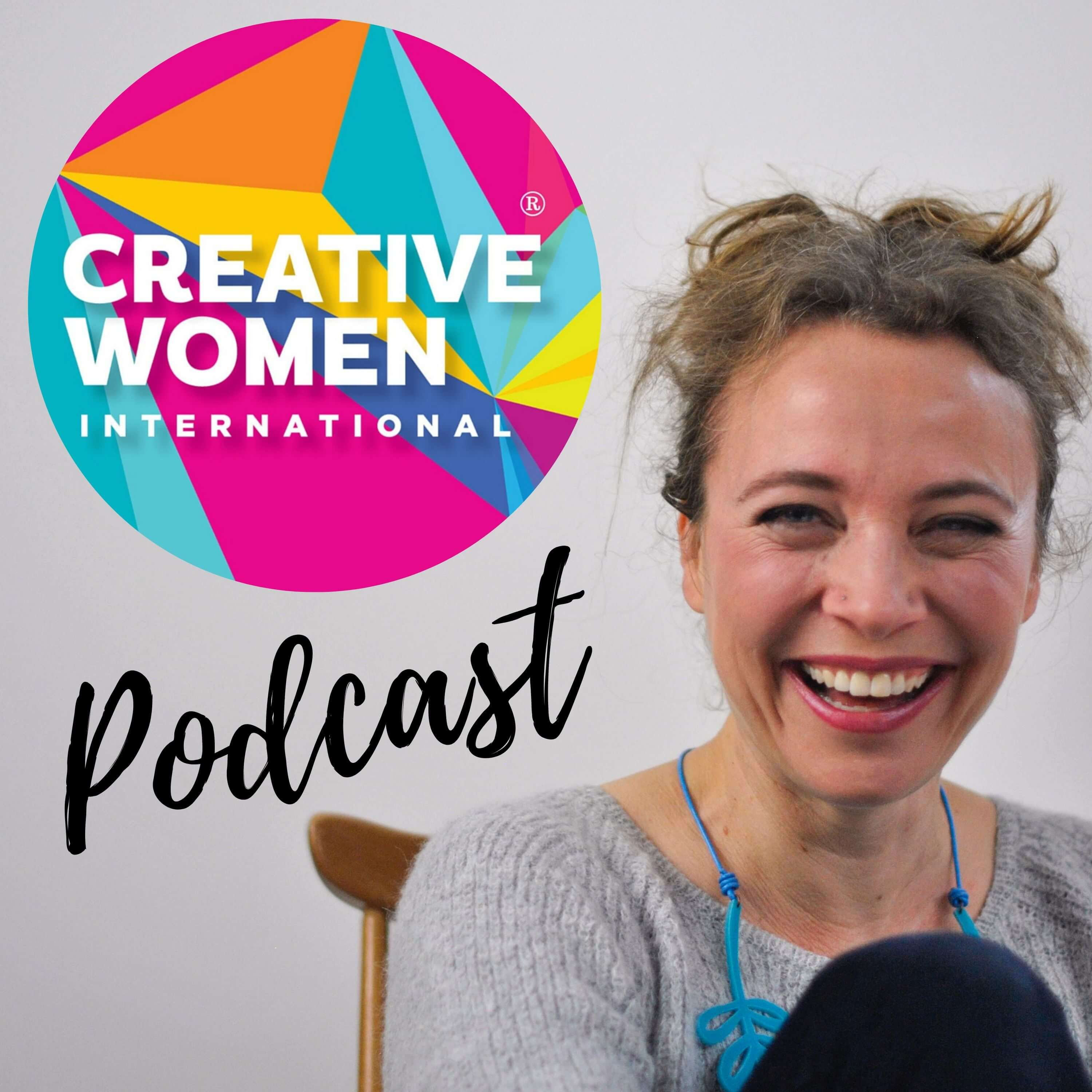 Creative Women International podcast show art