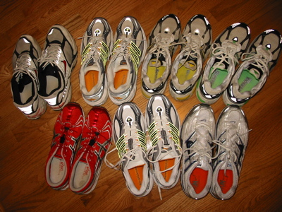 Too many shoes?