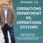 Artwork for Operations Department vs. Operations Systems