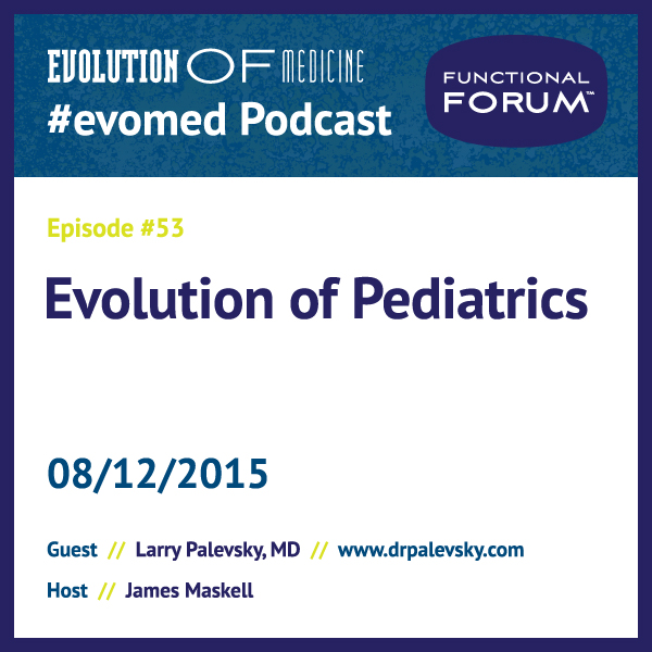 Evolution of Pediatrics