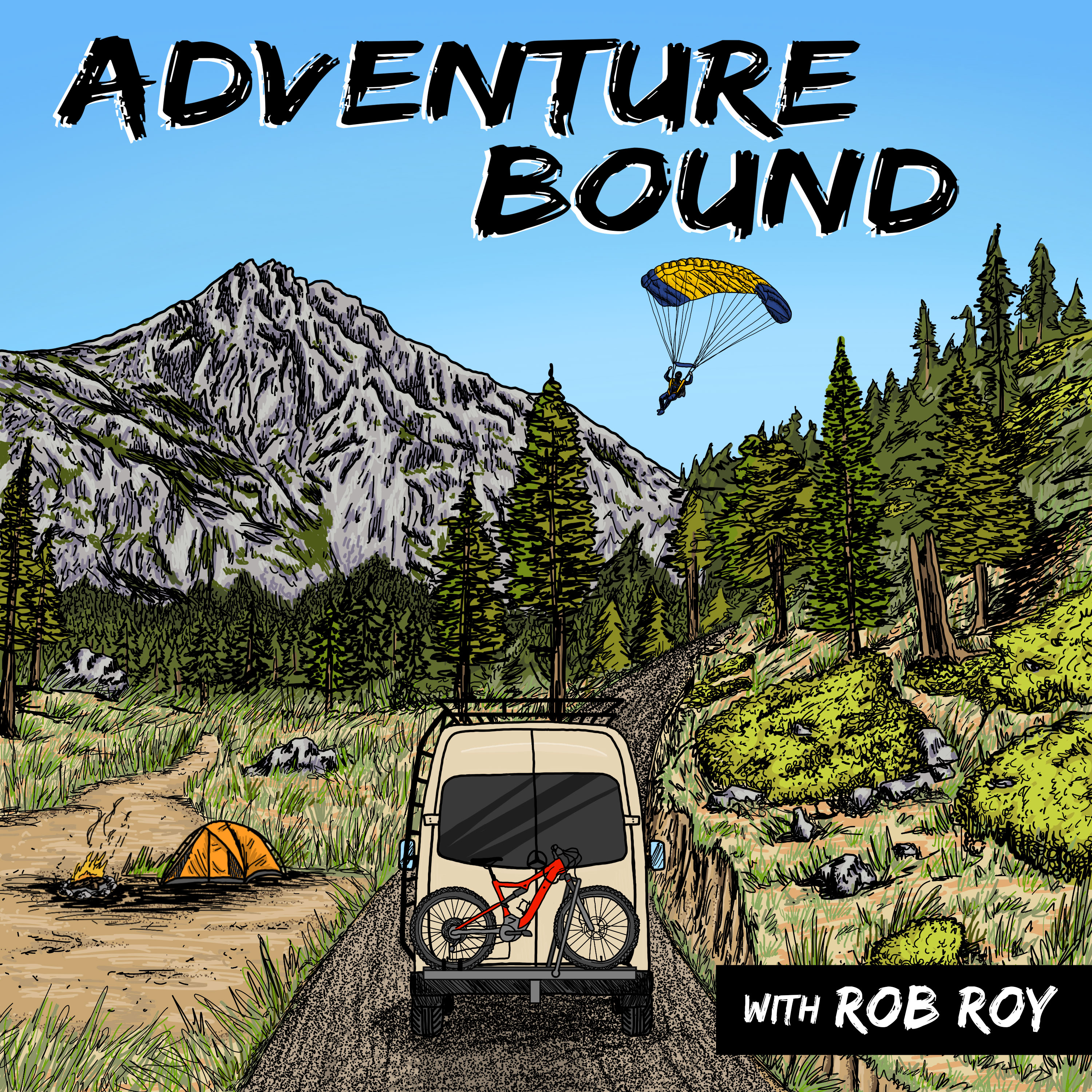 """Hiking Thousands of Miles on the Appalachian Trail, Pacific Crest Trail and Continental Divide Trail, with Ryan """"Constantine"""" Bunting"""