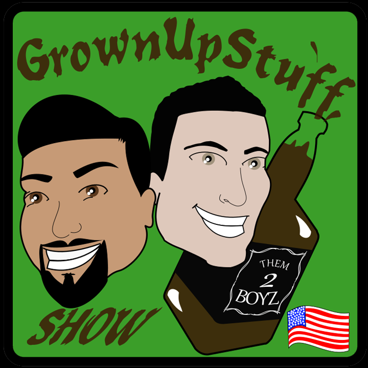 Grown Up Stuff Podcast logo