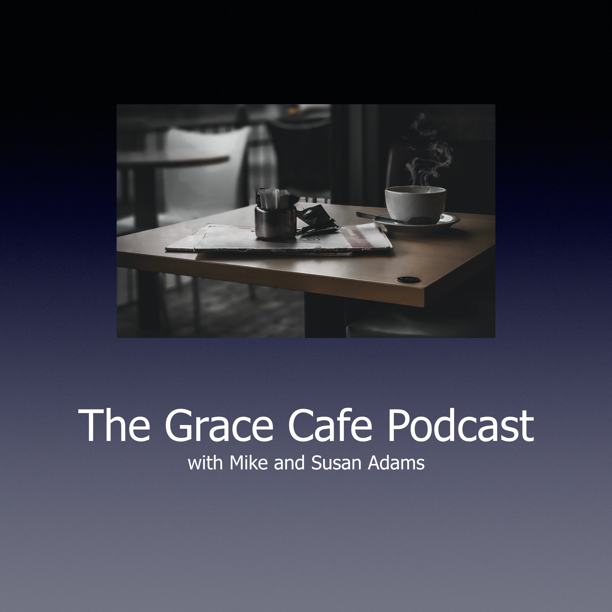 The Grace Cafe Podcast show art