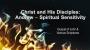Artwork for Christ and His Disciples: Andrew- Spiritual Sensitivity (Pastor Tim Martin)