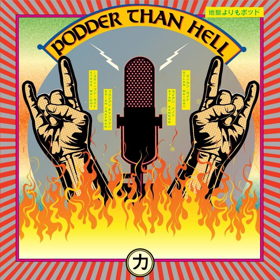Podder Than Hell Podcast show art