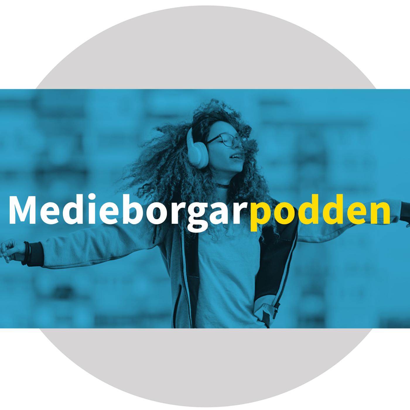 Medieborgarpodden show art