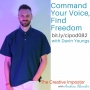 Artwork for 082: Command your voice, find freedom with singer Davin Youngs