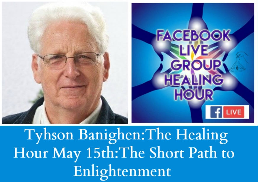 Artwork for  Tyhson Banighen:The Healing Hour:May 15th The Short Path to Enlightenment